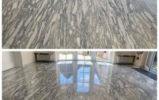 Mariposa Danby Marmor - Schleifen + Kristallisation