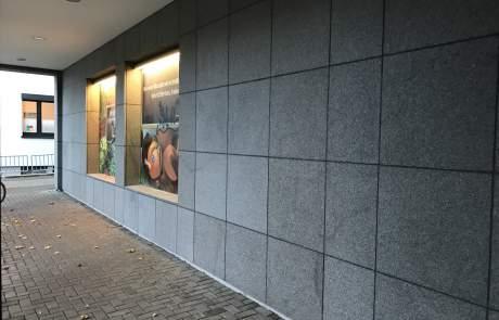 Fassadensanierung - Graffiti-Entfernung nachher